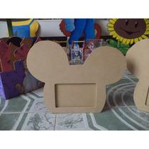 Portaretratos Infantiles Mickey Mouse Para Pintar Madera Mdf