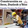 Aprende Construcción En Seco Con Durlock Y Yeso - Libros
