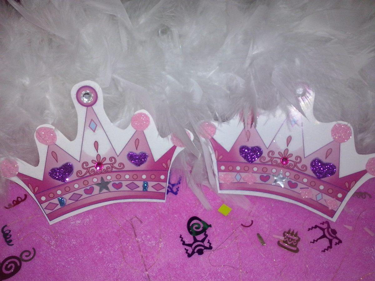 10 Invitaciones En Forma De Corona Princesa Y Principe - $ 130.00 ...