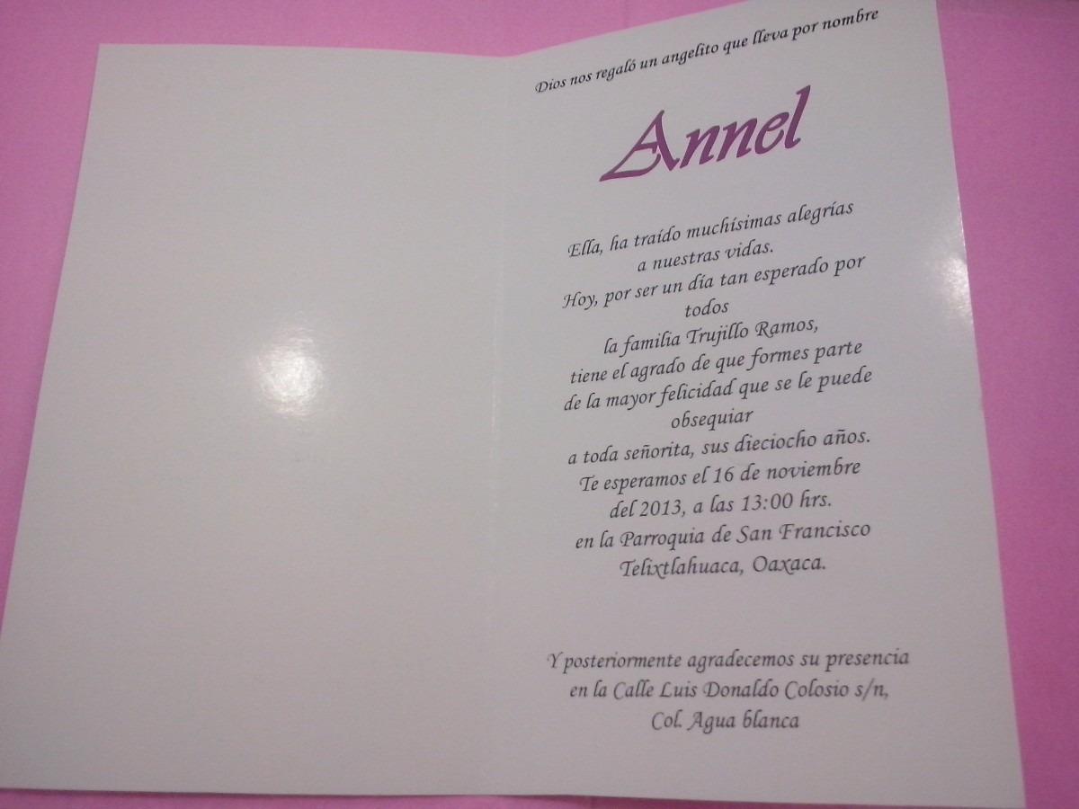 10 Tarjetas Invitacion 15 Años,cumpleaños Modelos Vintage ...