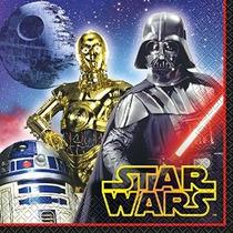 Star Wars Almuerzo Servilletas [16 Por Paquete]