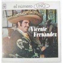 Vicente Fernadez / El Numero Uno 1 Disco Lp Vinilo