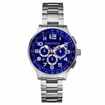 Reloj Nautica N25522 - Cronógrafo - Cristal Mineral - Cfmx