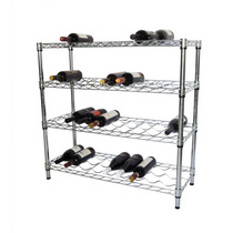 Estante Rack Para Botellas De Vino 4 Niveles Hm4