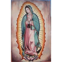 Pinturas Arte Sacro Virgen De Guadalupe Y Santos.