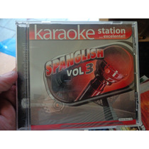 Karaoke Station Spanglish Vol 3 Cd De Audio