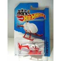 Hot Wheels Helicoptero Island Hopper Blanco/rojo 46/250 2014
