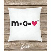 Cojín Personalizado Decorativo Diseño Fórmula De Amor