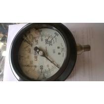 Manometro Metron 210kg/cm2 3000lb/pulg2 Infra.