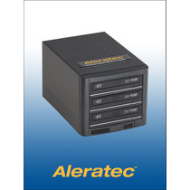 Aleratec 260164e1 A 3 Quemador Blu-ray Dvd Cd Hasta 3 Discos