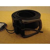 Cinturon Scappino Negro Talla 38 (100 Cm) (solo Guadalajara)