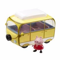 Peppa Pig Caravana Vehiculo Coleccionable Incluye A Peppa