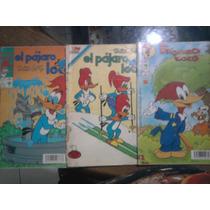 Revista Lote Pajaro Loco Comics Vintage 70s. Novaro