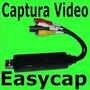 Tarjeta Capturadora De Video Usb Easycap Rca S-video