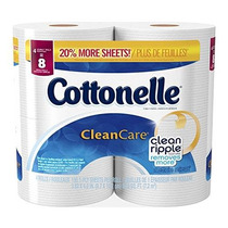 Cottonelle Atención Limpia Doble Rollo De Papel Higiénico 19