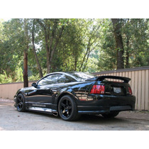 Ford Mustang Roush Estribos 99 00 01 02 03 04