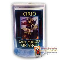 Cirio San Miguel Arcángel - Contra Enemigos Y Retirar Vicios
