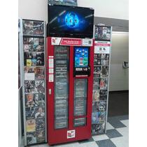 Kiosco Automatico De Renta Venta Peliculas Dvd Y Videjuegos