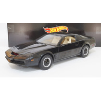 Knight Rider K.i.t.t. Auto Increible Escala 1:18 Hot Wheels