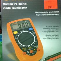 Multímetro Digital Escolar, Truper, Estudiantes, Electronica