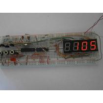 Reloj Con Microcontrolador, Proyecto De Electronica