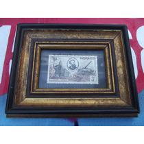 Sello Timbre Postal Antiguo De Monaco Julio Verne