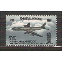 1960 Aniv Revolución Mexicana Aviación Telecomunicaciones