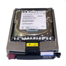 Disco Duro 146gb 10k Scsi 3.5 Hot Plug Y Hot Swap Hp U320 #c