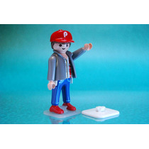 12 Bases Para Figuras Playmobil Maqueta Exhibicion Retromex¡