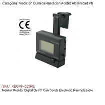 Monitor Medidor Digital De Ph C/sonda Electrodo Reemplazable