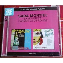 Sara Montiel La Violetera Y Carmen La De Ronda Cd Doble Raro