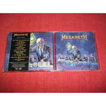 Megadeth - Rust In Peace Bonus Tracks Cd Imp Ed 2004 Mdisk