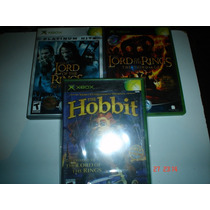 X-box Paquete Señor De Los Anillos The Lord Of The Rings