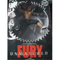 Wwe / Lucha Libre / Figura De John Cena 15 Cms Con Base