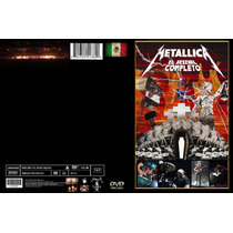 _-metallica Dvd El Arsenal Completo Mexico 2012