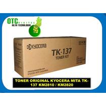 Toner Original Kyocera Mita Tk-137 Km2810 Km2820 Rm4