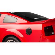 Tapa De Gasolina Estilo Bullitt Colornegro Mustang 05-09 Rm4