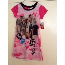 One Direction Pijama En Poliester Tall 08 Artículo Ofic. Mn4