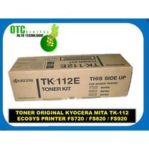 Toner Original Kyocera Mita Tk-112 Ecosys Printer Fs720 Vbf