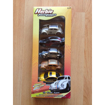 Set De 5 Herbie Vw Johnny Lightning , Beetle Set B