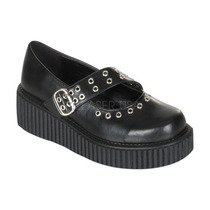 Creeper Dama Zapatos Punk Goticos Autenticos Marca Demonia