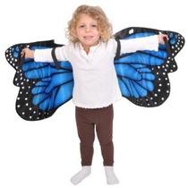 Mariposa Azul De Morpho Felpa Alas De Vestuario Por Aventura