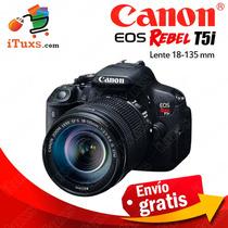 Camara Canon T5i Nueva Cuerpo + Lente 18-135mm Envio Gratis