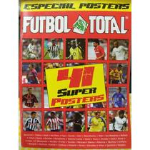Revista Futbol Total, 41 Posters De Varios Jugadores