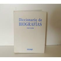 Diccionario De Biografias Oceano Con Cd