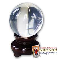 Esfera O Bola De Cristal Para Adivinación - Tamaño Mediano