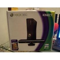 X Box 360 4gb Con Kinet