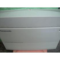 Conmutador Panasonic 03 Lineas 08 Extensiones Kxta 308