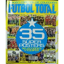 Revista Futbol Total, 35 Posters De Equipos Y Selecciones