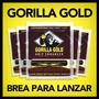 Gorilla Gold Grip Enhancer Brea P/ Lanzador Softbol 5-pack